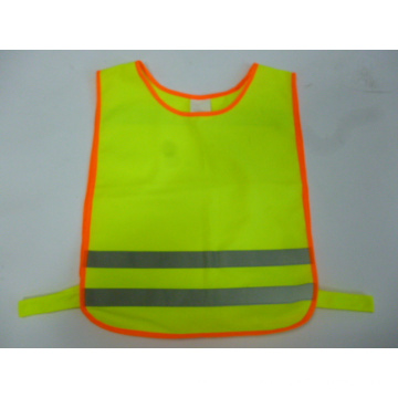 100% Polyester Knitting Fabric Safety Vest