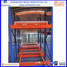 Горячая продажа в складском оборудовании Steel Q235 Push Back Racking