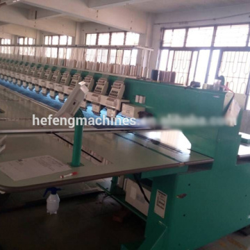 9 needles 24 heads high speed embroidery machine for lady dress