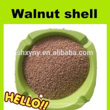 Poudre abrasive de coquille de noix de 100 mailles pour le sablage