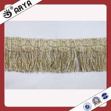 Franja elegante del cepillo de la manera para el sofá, almohadilla, cortina