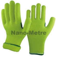 NMSAFETY nappy acrylic knit winter hand warm work gloves
