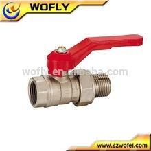 Robinet à bille en acier inoxydable de haute qualité dn20 vanne à eau 1pc 1000wog