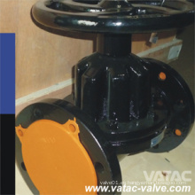 Saunders Weir Cl125 / ANSI 125 # Bridada Rfxff A126 B Válvula de diafragma de hierro