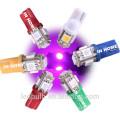 Super Bright T10 Led Parking Light Canbus Multi-color Led T10 194 Wedge Bulb