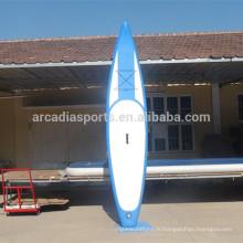 Nouvelle planche de course gonflable d'athlétisme de mode SUP Paddleboard
