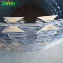 galvanized barbed wire  barbed razor mesh fencing