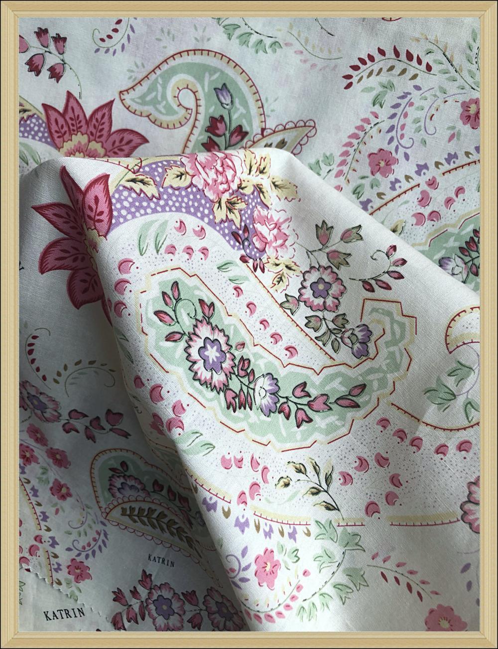cotton poplin print for dress