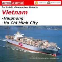Shipping From Shenzhen/Guangzhou/Shanghai/Ningbo/Qingdao/Tianjin/China to Haiphong, Vietnam