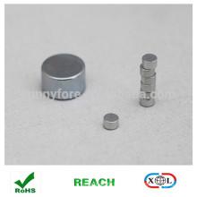 customized size zinc coating neodymium disc magnet
