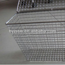 Galvanized Wire Mesh Basket Strainer