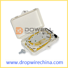 4 Core Fiber Optic Distribution Box