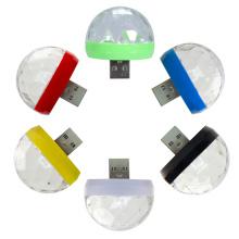 USB Party Lights Mini Disco Ball Led DJ Stage Light Colorful Lamp