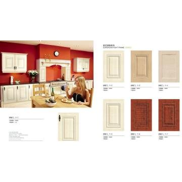 PVC Faced  Kitchen Cupboard  Cabinet  Door (customized)