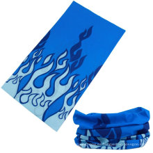 Buff multifuncional de bandana de microfibra impresa con logotipo personalizado