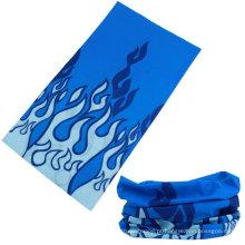 Logotipo personalizado impresso microfibra multifuncional bandana lustre