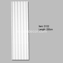 Polyurethane Fluted सजावटी Pilasters