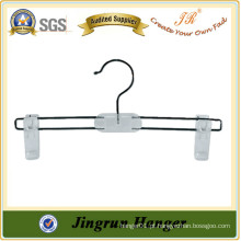 Fashion White Hanger Novo Hot Sale Kid Plastic Pants Hanger