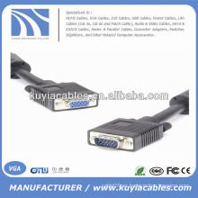 VGA macho al cable de extensión femenino del VGA
