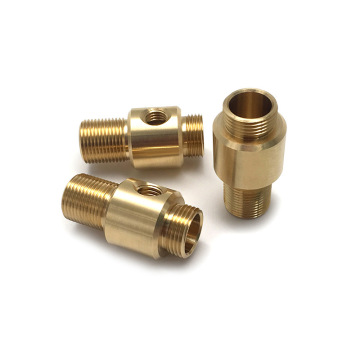 Conector de conexión de cobre mecanizado CNC