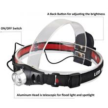 Ultrabright fishing headlamp