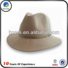 2015 fashion flat wide brim fedora felt hat
