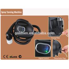 Главная Mini Body Tanning Bed Machine System Ручной Tan Spray Gun Портативный закрытый Профессиональный HVLP тела спрей Tan машины