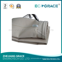 Bolso de filtro del polvo del aire de PPS del paño de filtro de la anchura de 2150m m