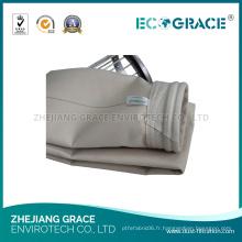 Chaussette industrielle de ceinture de fibre de collecteur de la poussière de système de filtre à air PPS