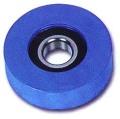 Rodillo azul para elevación componente del elevador