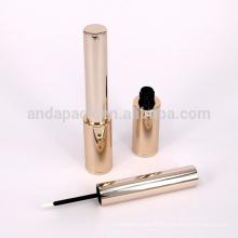 Delineador luxo alumínio tubo cosméticos