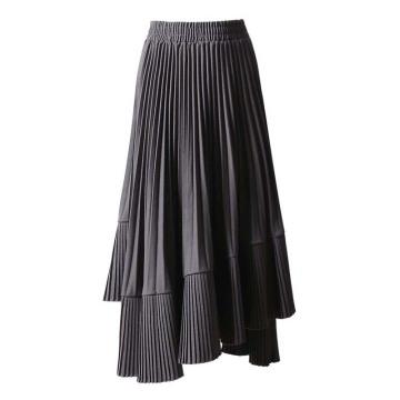 Свободное платье с длинной юбкой высокого качества