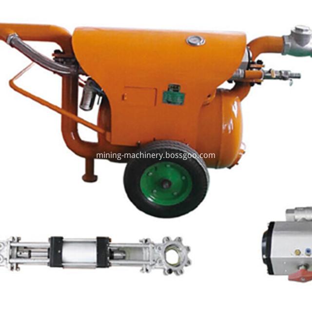 Dredging sand and mud pump pneumatic equipment (16)