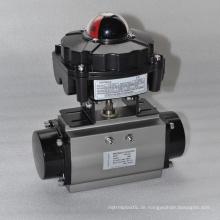 China machte preiswerten hochwertigen elektrischen Kugelhahn mit APL2N begrenzten Schalterkasten durch Signalanzeige