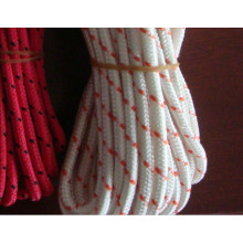 Colored 3-strand twisted polyester rope 6mm
