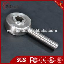 Custom cnc bearbeitete und geschweißte Stahlteile CNC-Bearbeitung Stahl Drehen und Schweißen Teile
