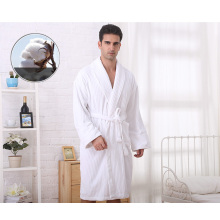 Factory Wholesale High Quality Cotton Hotel Bathrobe (WSB-2016030)
