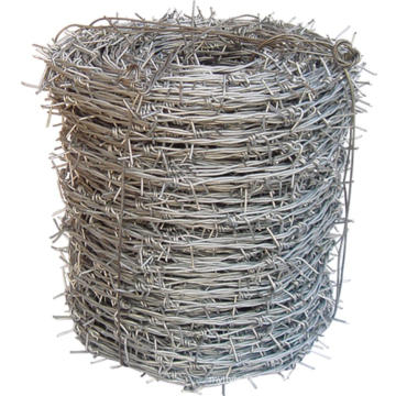 Bras de fil de fer barbelé galvanisé