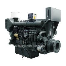 Судовой двигатель серии Sc33W, 382-605 кВт, Sdec