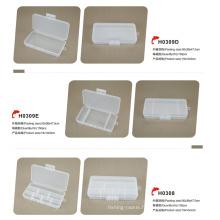 Boîte en plastique d'équipement de pêche de vente chaude
