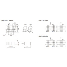 0.56inch 2 Digit 7 Segment Display (GNS-5624Ax-Bx)