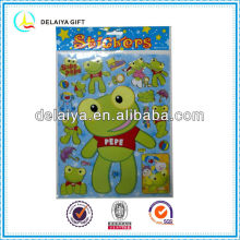 Cute cartoon PVC sticker for kids