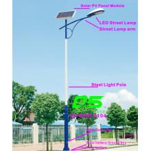 WPSRR-8104 3~15m Municipal Road Hot DIP Galvanized Steet Light Pole style