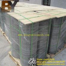 Malla de alambre soldada de alambre de acero inoxidable