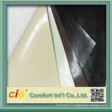 2015 Haute Qualité PU Imitation Cuir Tissu