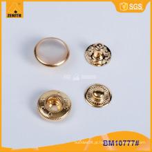 Metal Snap botão de pérola, personalizado botão Snap impresso BM10777