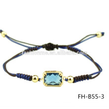 Pulsera de resina China exquisita ajustable zircon