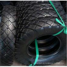 rueda de goma 4.00-8 para carretilla