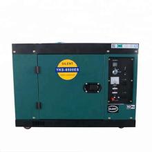 Alta calidad 7.5kva tamaño pequeño generador de lister con 6kw 2 cilindros diesel motor genset para la venta