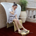Electrical muscle stimulation apparatus for foot massage